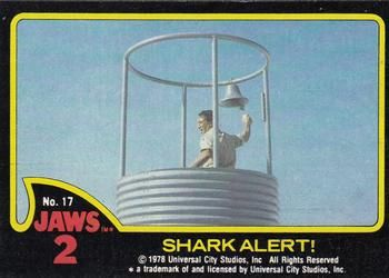 1978 Topps Jaws 2 #17