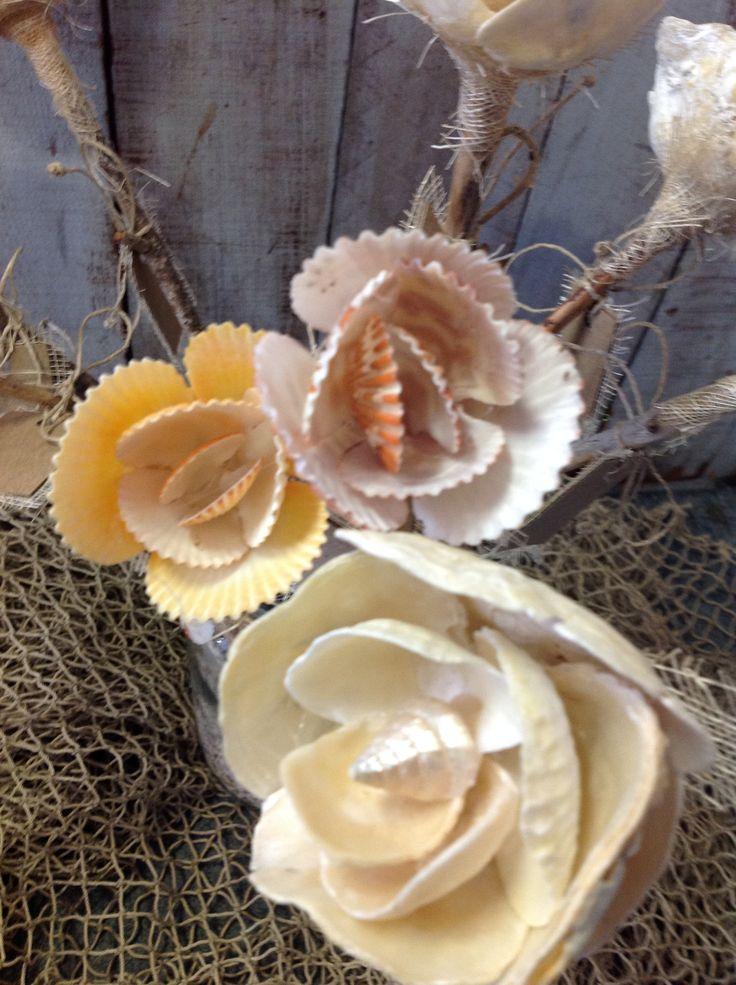 Seashell Flowers 289 best Souvenir Ideas images