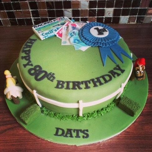 Cake Decorations Horse Racing : 26 best images about Racecourse cakes on Pinterest ...