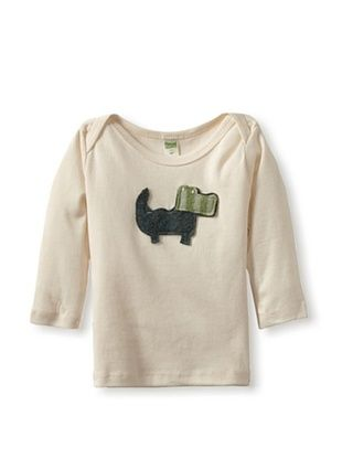 53% OFF Cate & Levi Baby Crocodile Long Sleeve Lap Tee (Green)