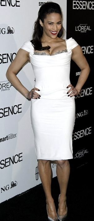 pamela Rowland dresses | Viola Davis Debuts Gorgeous Natural Hairstyle At Essence Luncheon