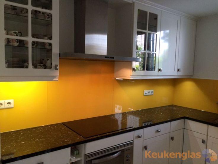 Glazen Achterwand Keuken Eindhoven : Meer dan 1000 idee?n over Gele Keukens op Pinterest – Keukens, Gele
