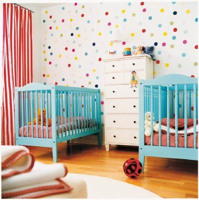 Pop & Lolli Fabric Wall Stickers - Fun Fetti