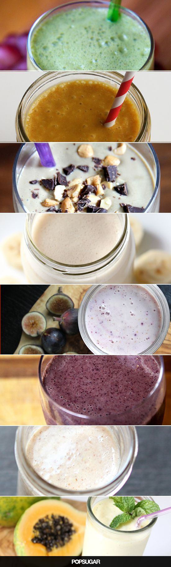 If you love smoothies, we've got a ton of recipes that you need to try! Fruity, chocolatey, protein-packed, and more.