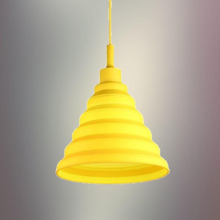 Závesné svietidlo v modernom dizajne (stropné svietidlo, luster) je kvalitný a zároveň moderný typ stropného lustru vyrobené z kvalitného silikónu
