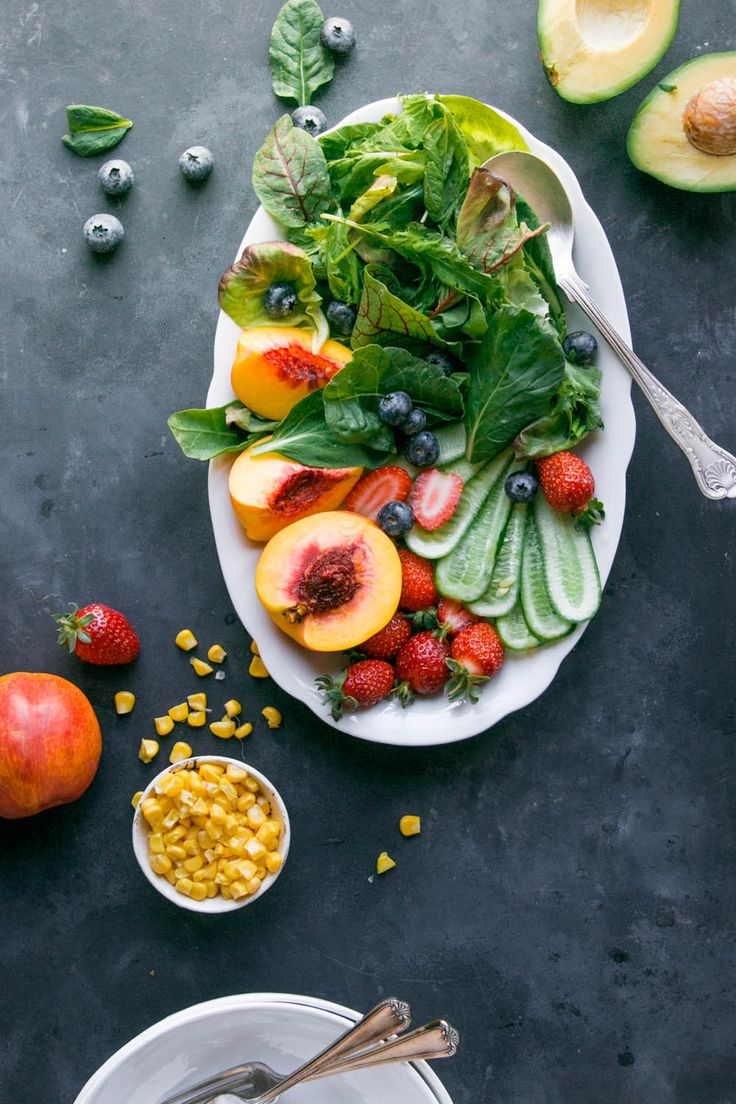 Late summer, Summer salad and Salads on Pinterest