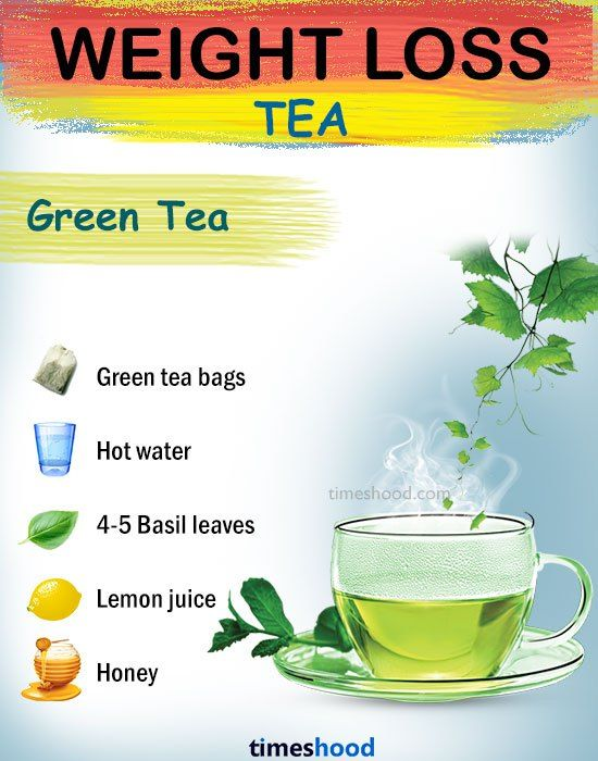 green tea help lose weight