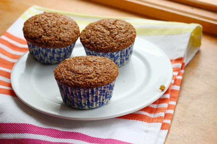 Spiced Raisin Bran Muffins