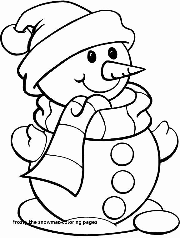 Frosty The Snowman Coloring Pages Luxury Snowman Face Coloring Page Christmas Coloring Sheets Snowman Coloring Pages Printable Christmas Coloring Pages
