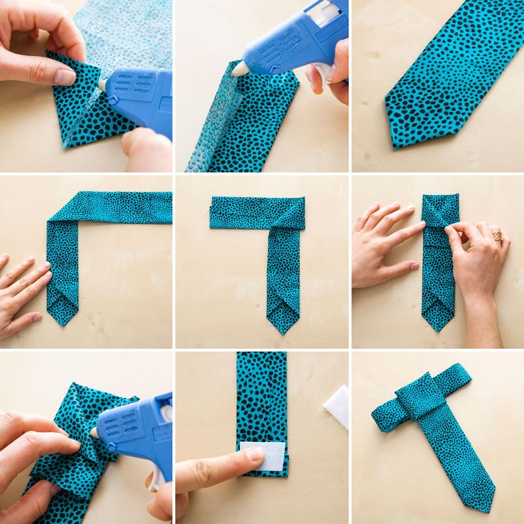 You won't believe how easy it is to DIY a necktie collar for your dog.