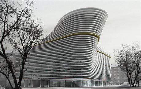 Architektonický návrh budovy Line. Lední medfvěd | na serveru Lidovky.cz | aktuální zprávy