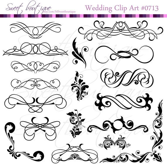 389 best my clip arts images on pinterest craft work scrapbook black calligraphy clip art clipart diy wedding by msweetboutique junglespirit Choice Image