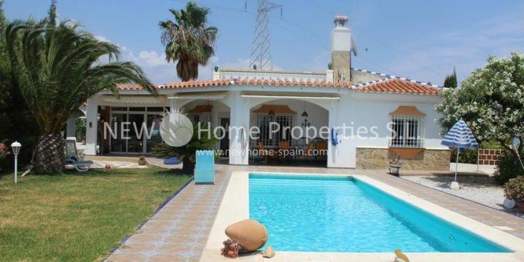 Villa in Mezquitilla only 500 m distance to the beach - Costa del Sol - Ref 1119 - more under www.newhome-spain.com
