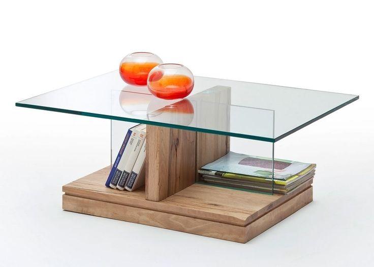 Couchtisch Glas Lennart Wildeiche Massiv 8831 Buy Now At