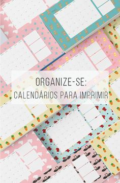 Calendário de abril, maio e junho de graça pra baixar e já organizar o trimestre inteiro! :-D // Calendário mensal de abril, maio, junho, pra você imprimir de graça e se organizar melhor! // palavras-chave: faça você mesma, DIY, passo a passo, inspiração, ideia, tutorial, decoração, calendário, gratuito, grátis, papel, download, organizador, organizar, junho, abril, maio