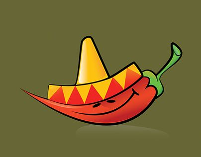 """Check out new work on my @Behance portfolio: """"Mexican Chili"""" http://be.net/gallery/43415123/Mexican-Chili"""