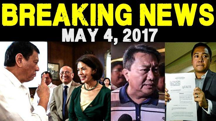 BREAKING NEWS TODAY MAY 4 2017 PRESIDENT DUTERTE l DENR SEC GINA LOPEZ l...