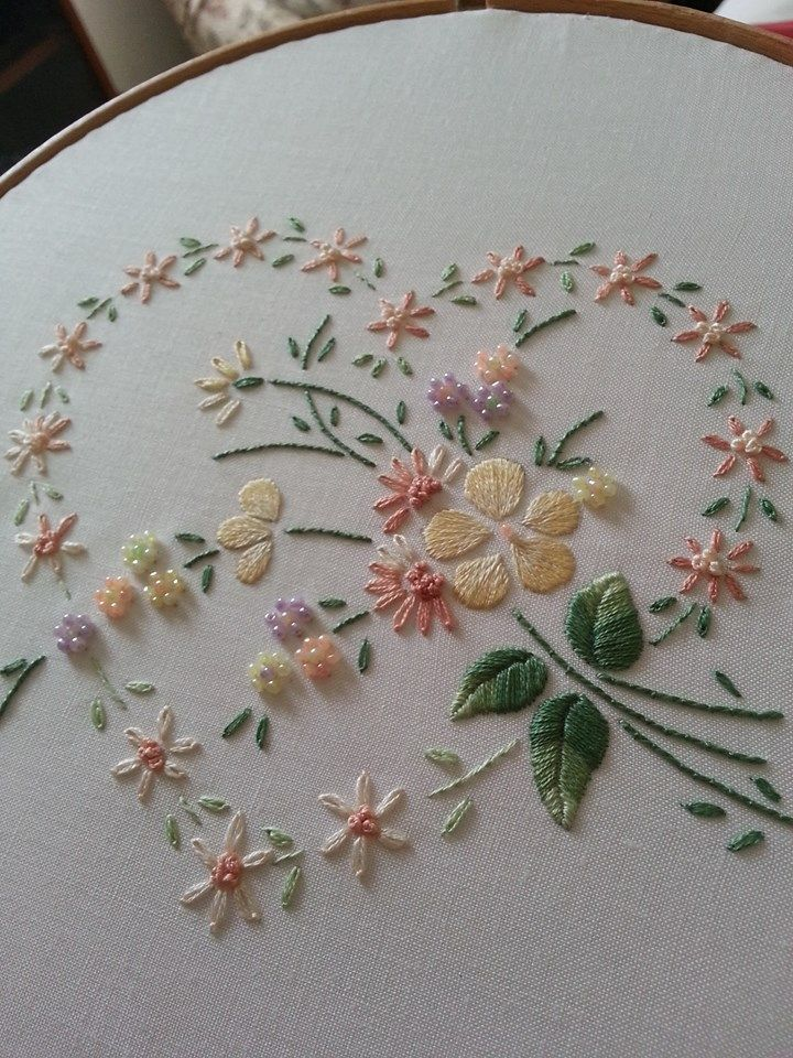 Brezilya Naku0131u015fu0131 | Bordados | Pinterest | Beautiful Hand Embroidery And Pastel