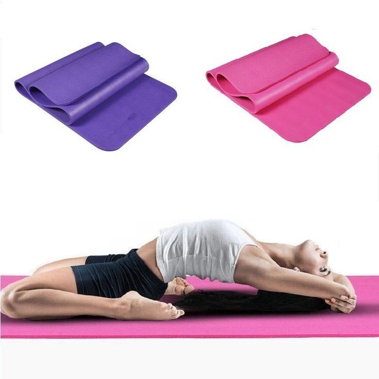 Tapete de Yoga Para Iniciantes Anti Slip mat antiderrapante esteira da aptidão do esporte com corda yoga gym mat 183*61*10mm