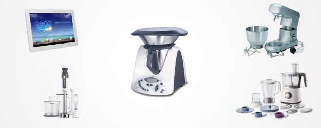 Se hai un buon budget, potresti regalare degli elettrodomestici, come ad esempio il bimby, un buon robot da cucina, un tablet da fissare al muro per avere sempre a portata di mano ricette o vdeoricette, ...  #cucina #regalo #regali #elettrodomestici