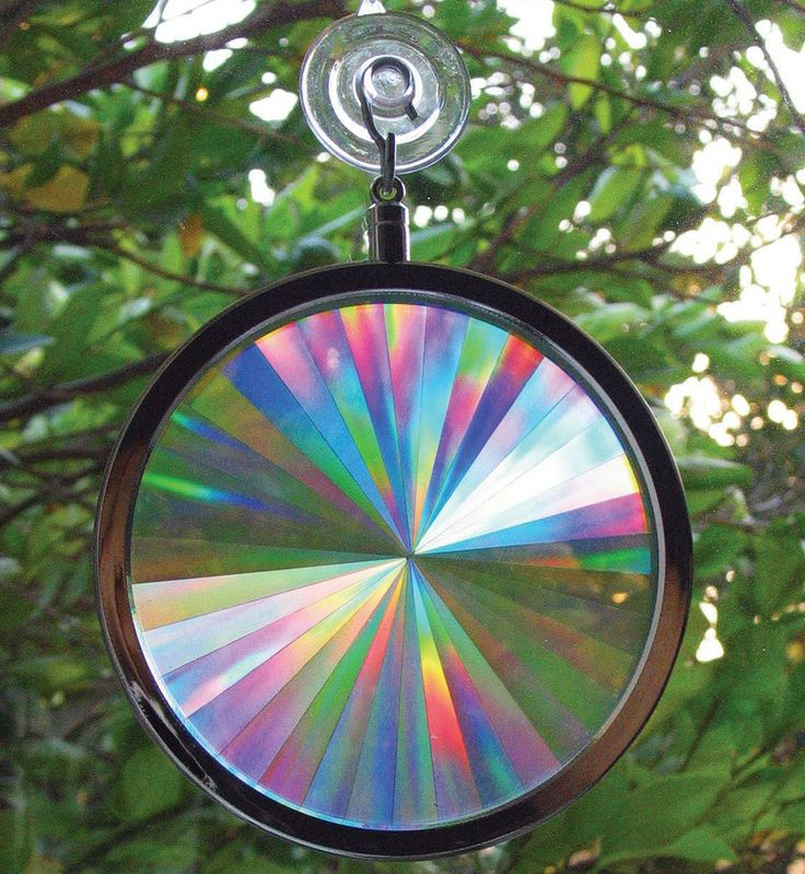 Prisms should fill every window that the sun shines through