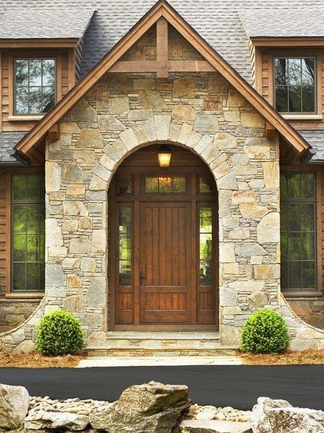 25 best decoracion de casas rusticas ideas on pinterest - Fachadas de chalets ...