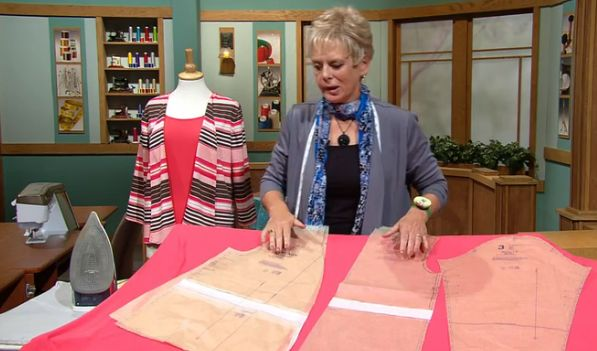 Sew a knit wardrobe start to finish with tips from Sewing With Nancy's Nancy Zieman