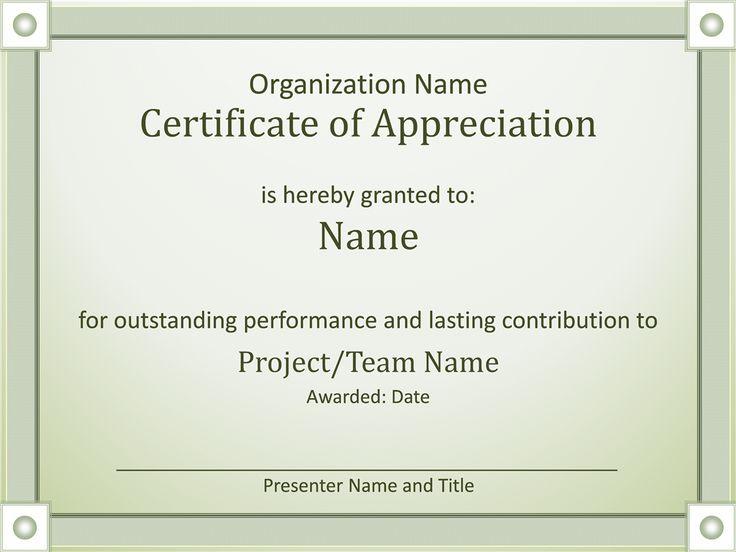 Ms De  Ideas Increbles Sobre Certificate Of Recognition