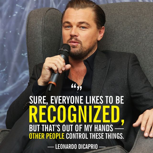 10 Times Leonardo DiCaprio Pretended to Be Chill About His 2016 Oscar Odds