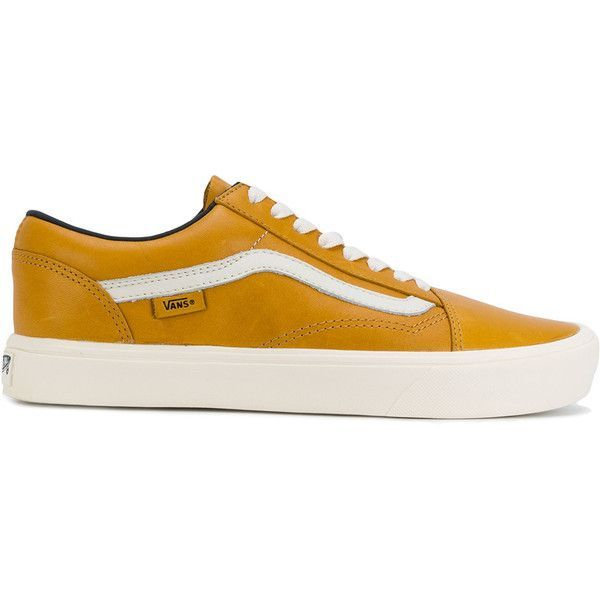 ed12813a2d8 Vans x Horween Old Skool Lite LX sneakers (285 BGN) ❤ liked on Polyvore  featuring men s fashion