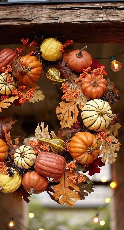 fall wreath....
