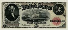 Series 1917 $2 Two Dollar United States Legal Tender Note FR #59 FINE  4751A