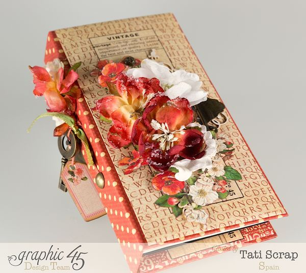 Tati, Book, DIY Craft Paper, product by Graphic 45, photo 1