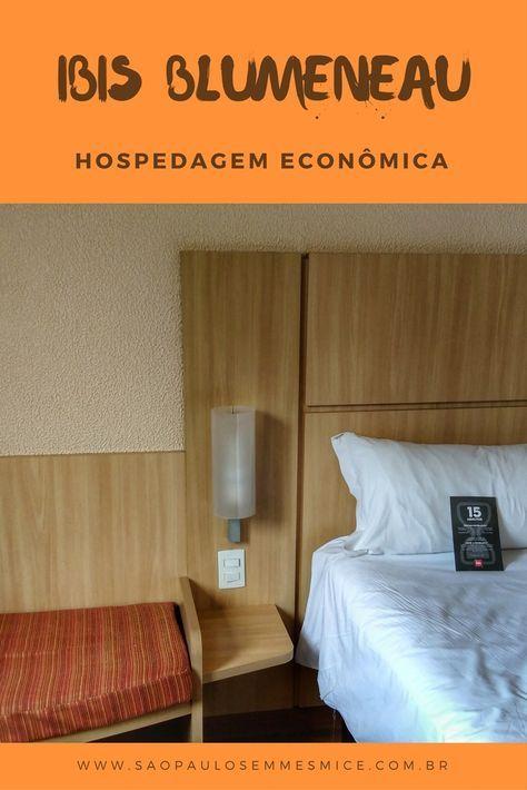 O Hotel Ibis Blumenau é uma opção econômica para se hospedar na terra da Oktoberfest, bem localizado, barato e confortável, saiba tudo sobre o hotel. | Viagem Santa Catarina - Brasil | Onde ficar em Blumenau