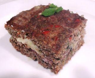 Kibe assado recheado Dukan - Aprovadissimo. Fácil de fazer e fica delicioso!!!!!