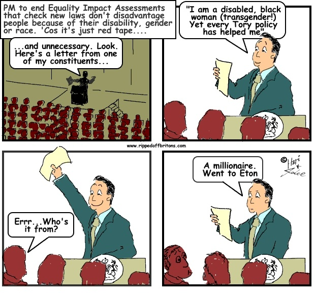 Ripped-off Britons: Cameron 'calls time' on Labour's equality impact assessments