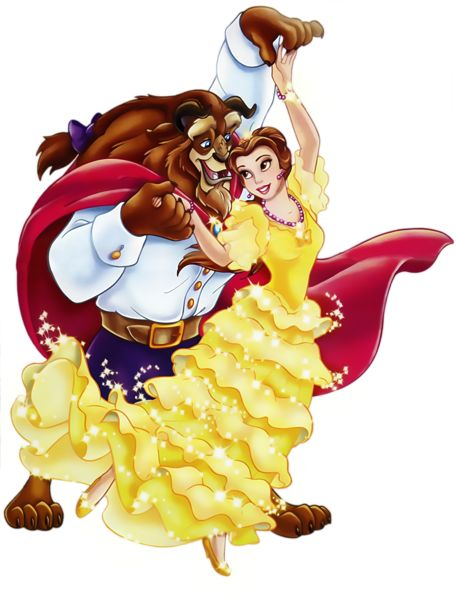 Beauty and the Beast PNG Picture Clipart