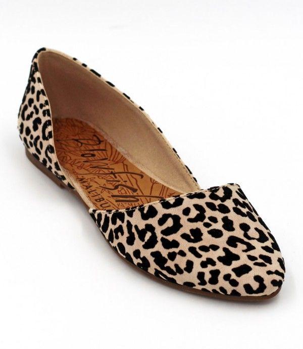 shoes, Leopard print flats, Cute shoes
