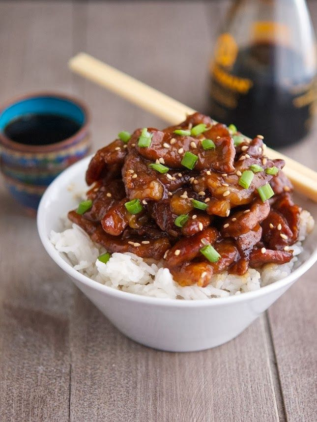 Craving Chinese takeout? Make this low carb Mongolian Beef instead... omit rice of course :)! sub w/ cauli-rice or shiritaki noodles