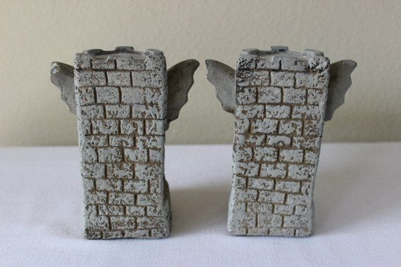 25 best ideas about gothic gargoyles on pinterest notre dame eastern state penitentiary and - Gothic bookends ...