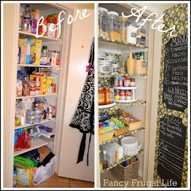 Fancy Frugal Life: My Pantry Organized (Before & After)
