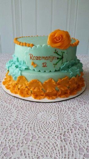 Mint Orange cake
