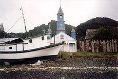Le Chiese di Chiloé sono templi in legno costruiti nell'arcipelago di Chiloé, secondo uno schema tradizionale, dalla metà XVIII sec. sino agli inizi del XX sec.