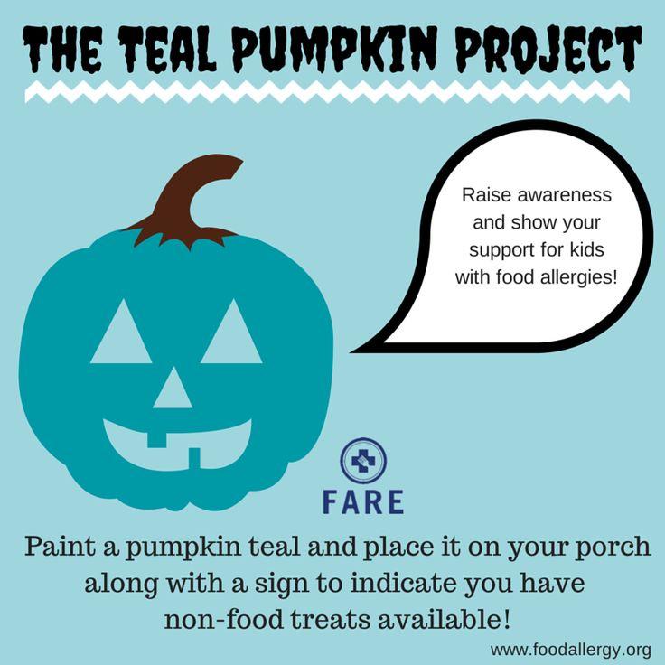 So, have you heard of the #TealPumpkinProject? Dawn Rodriguez Crisostomo