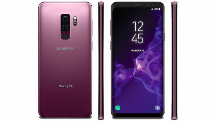The Samsung Galaxy S9 and S9 Plus leak in a stunning Lilac Purple color (Update: Coral Blue too!)