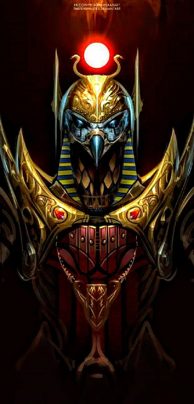 Ancient Egyptian God S Wallpaper Hd Ancient Egyptian Gods Egyptian Gods Dark Fantasy Art