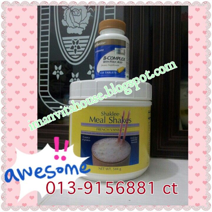 Gain weight set contains B-Complex & meal shake