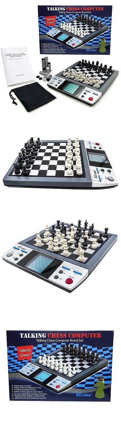 Electronic Chess 155339: Electronic Talking Chess Board Games With 8 In 1 Talking Computer Chess Set F... -> BUY IT NOW ONLY: $52.99 on eBay!