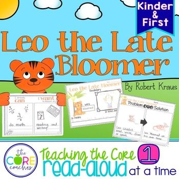 leo the late bloomer writing activities