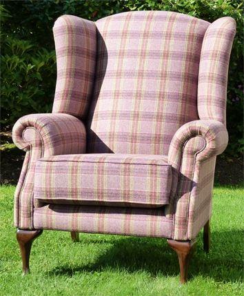 Tartan Queen Anne Chair